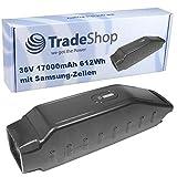 Trade-Shop Premium Li-Ion Akku 36V / 17000mAh /...