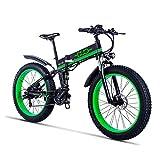 Gunai Fettreifen Fahrrad, 26 Zoll Elektro Fahrrad...