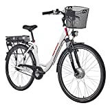 Telefunken E-Bike Damen Elektrofahrrad Alu, mit...