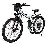 ANCHEER Elektrofahrrad Mountainbike, 26 Zoll 4.0...