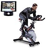 Sportstech Profi Indoor Cycle SX400 mit Smartphone...