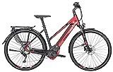 Damen E-Bike 28 Zoll rot schwarz- Pegasus Premio...