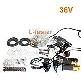 L-faster neueste 450W E-Bike-Motor-Kit Elektrische...