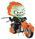 Pop Rides Marvel Classic Ghost Rider with Bike...