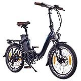 NCM Paris 20 Zoll E-Faltrad E-Bike, 36V 250W...