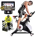 Sportstech Profi Indoor Cycle SX500 mit Smartphone...