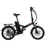 VARUN 20' Klappbares E-Bike für Damen Herren,...