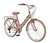 BIKESTAR Alu City Stadt Fahrrad 28 Zoll | 18 Zoll...