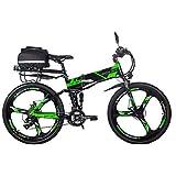 RICH BIT 26-Zoll-E-Bike mit zusammenklappbarem...