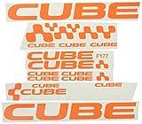 Ecoshirt T5-7AVQ-QSOU Aufkleber Cube F177, Vinyl,...