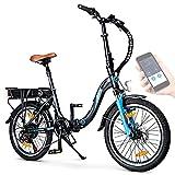 BLUEWHEEL 20' klappbares E-Bike I Deutsche...
