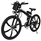 ANCHEER Elektrofahrrad 26Zoll/20Zoll Zoll E- Bike...