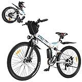 VIVI 350W E-Bike Mountainbike,26 Zoll Erwachsene...