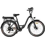Speedrid Elektrofahrrad, Retro City E-Bike mit...