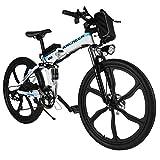 ANCHEER Elektrofahrrad 26Zoll E- Bike...