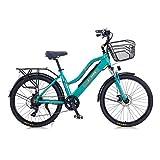 Hyuhome 2021 Upgrade Elektrofahrräder für Frauen...