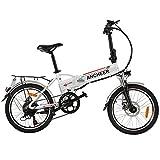 ANCHEER 20 Zoll E-Bike Pedelec Elektrofahrrad mit...