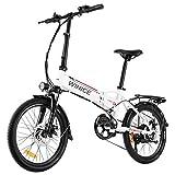 Vivi E-Bike Faltbares Elektrofahrrad, 20 Zoll...