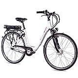 CHRISSON 28 Zoll E-Bike Trekking und City Bike...