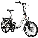 AsVIVA E-Bike 20 Zoll, Faltrad (15,6Ah Akku),...