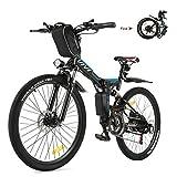 VIVI E-Bike Mountainbike, 26 Zoll E-Bike Klapprad,...